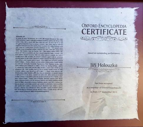 Oxford certifikát
