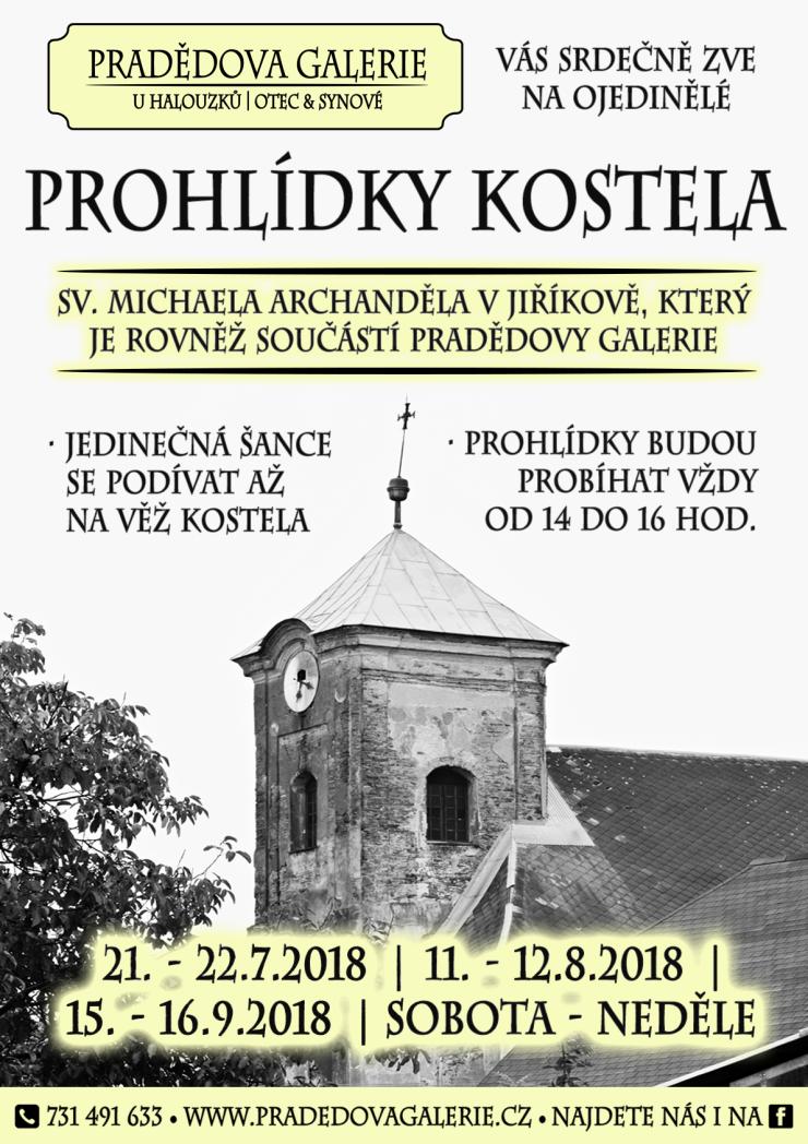10-07-2018 - PG - Prohlídky kostela - plakát PNG