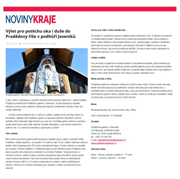 18-02-2020 - PG - Článek - Noviny kraje